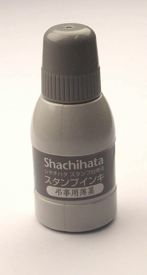 シャチハタshachihata【弔事用薄墨スタンプ用インク】SGN-4040ml
